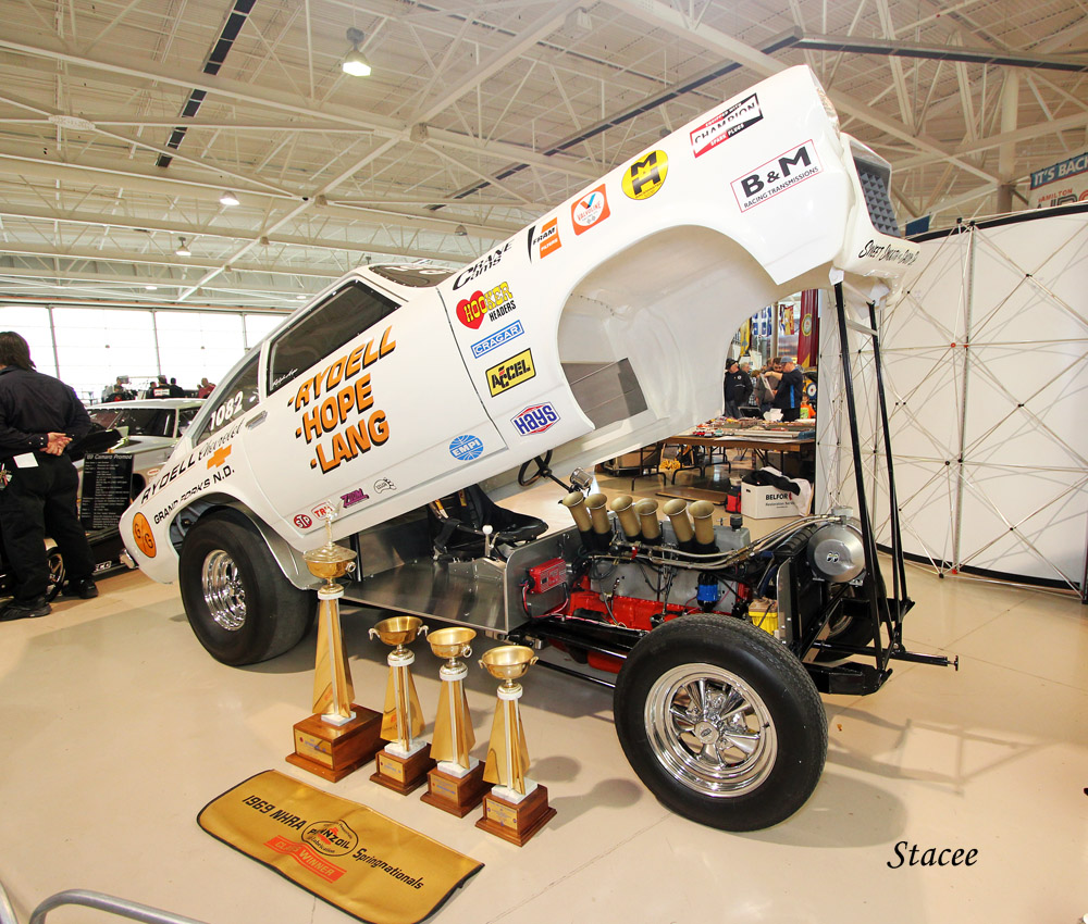 Doug Cadman debuted the fully restored Rydell, Hope, and Lang six cylinder Vega