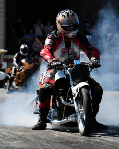 An extremely wide variety of drag bikes will invade Grand Bend Motorplex over Fathers Day weekend.