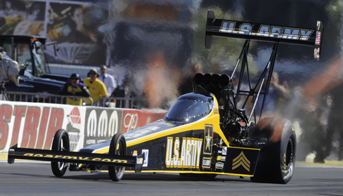 Tony Schumacher's win in Top Fuel was his 2nd straight Summit Racing.com Nationals event  title.