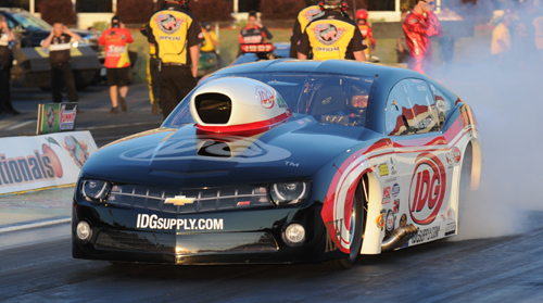 Rickie Smith was dominating while winning in Pro Mod