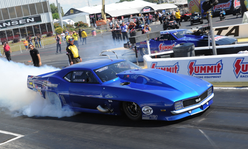 Jim Bell's first NHRA race back since his crash was a promising but DNQ effort