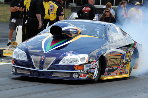 Tommy Turner won in Top Sportsman with his GXP