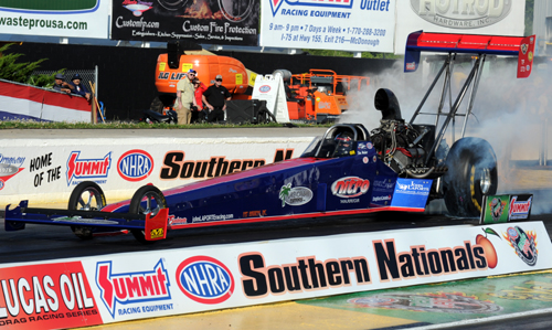Congratulations to the Canadian Top Fuel team of John LaPorte & Ike Maier who achieved their highest qualifying placing yet in NHRA - #14 - with a 4.007 secs