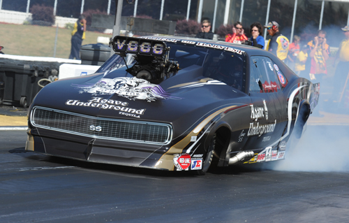 "Canadian native Danny Rowe had another superb event -- qualifying 4th and going to the ""final four"" in Pro Mod"