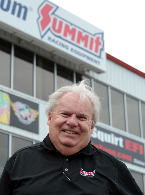 Canadian drag racing proponent John Waldie was the Summit Racing Southern Nationals Grand Marshall!