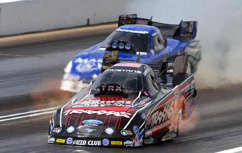 Courtney Force's win was dominating -- coming from the #1 qualified position and including both Low ET and top speed!