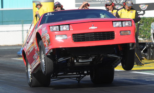 David Rampy collected career NHRA victory #84 while winning in Super Stock