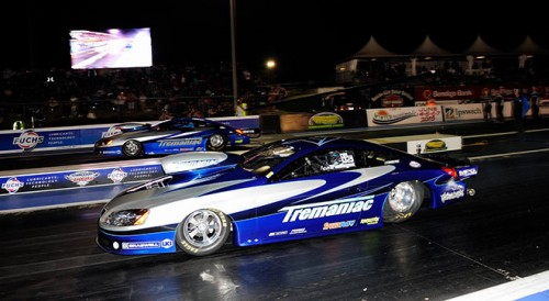The Pro Stock final was an all Tremayne Family affair
