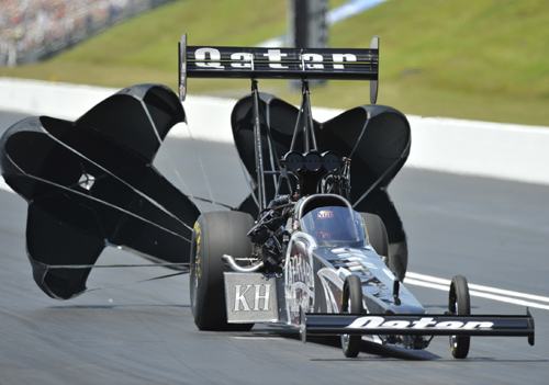 Shawn Langdon - the defending NHRA TF Champion - went to his 3rd final round of the '14 season
