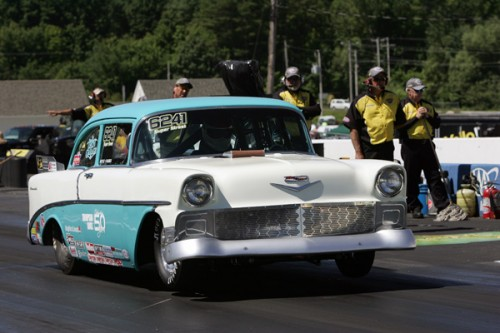 Alberta's Casey Plaizier who will be in competition at the Jegs ALLSTARs event next week entered his '56 Chevy in Super Street.