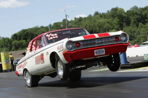 "Mopar fans went ""Lady GaGa"" over the classic '64 Dodge B/SA entered by Quebec's Serge Couterier."