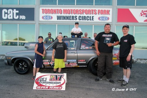 Tom Coonly won the TNT Super Series event at Cayuga last weekend