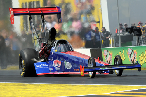 Ike Maier will drive John LaPorte's Top Fuel dragster in the event's special Canada v.s. USA match race.