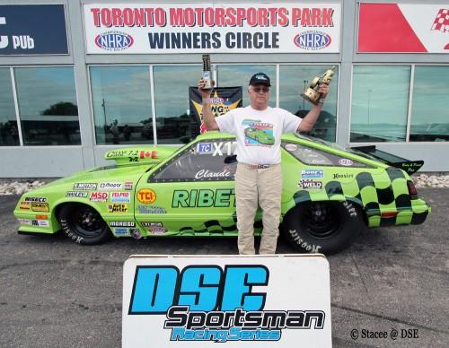 "Defending 2013 ""King of the Track"" winner - Claude Losier"