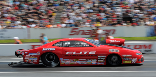Erica Enders-Stevens reset both ends of the national record in Pro Stock