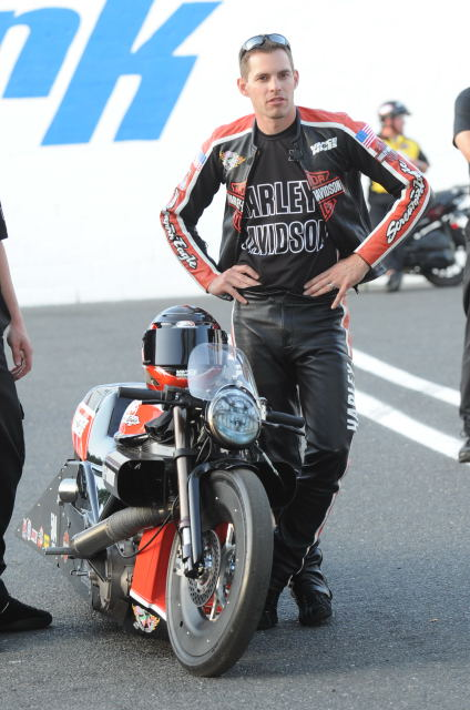Andrew Hines stood tall again in Pro Stock Motorcycle