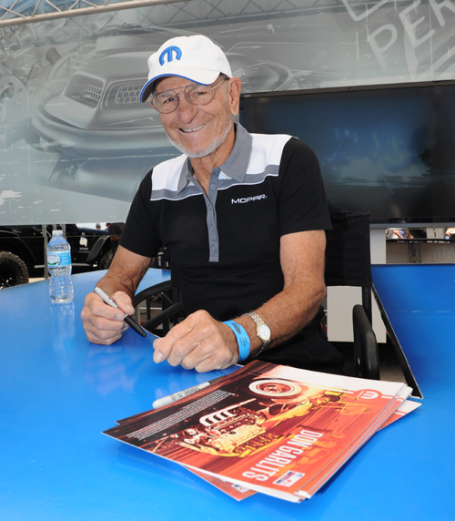 "The Mopar Canadian Nitro Jam Nationals - Grand Marshall was truly special -- non other then ""Big Daddy"" Don Garlits!"