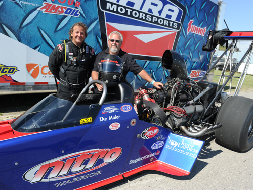 Ike Maier and car owner John Laporte continued their ownership of Grand Bend Motorplex