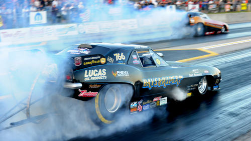 Jason Rupert won for the 4th time in IHRA's thriving Nostalgia Nitro FC class this season.