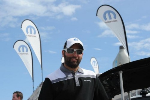 Jon Camilleri - the  Mopar Marketing Manager at Chrysler Canada - deserves a lot of credit for the on-going event success of the Mopar Canadian Nationals.