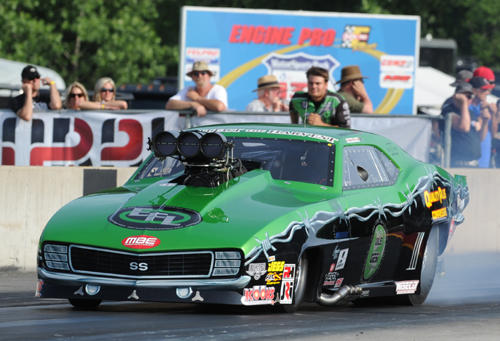 Eric Latino (from Whitby Ontario) prevailed to win the Pro Boost class during the PDRA's Summer Drags in Michigan