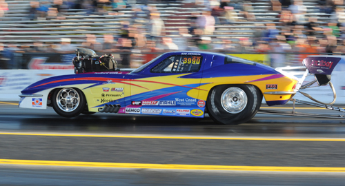 Rob Atchison earned his first career win in the Pro Mod category during the IHRA's Mopar Canadian Nationals