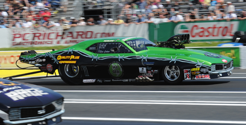 "Whitby Ontario's Eric Latino had his best finish yet in NHRA Pro Mod competition -- going to the ""final four"" in the class"