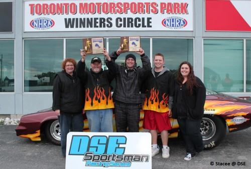 2012 Super Pro and Quick 16 NHRA Provincial Champion Matt Costabile