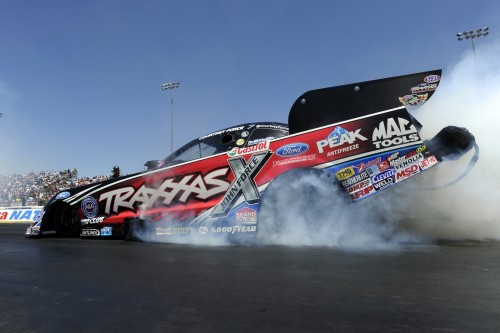 With her win - Courtney Force has become the winningest female driver in NHRA FC history