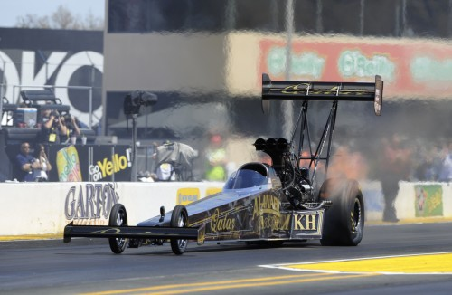 The Top Fuel winner was KH alBalooshi