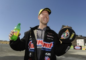 Jason Line earned an historic 200th win in Pro Stock for the Chevrolet brand in NHRA