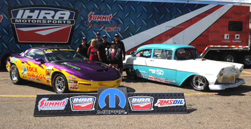 Casey Plaizier won in both Stock and Hot Rod during the Summit Pro-Am event held Saturday