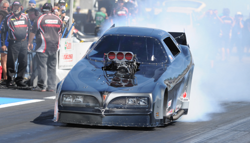 "Tim ""Iceman"" Nemeth won his 2nd straight Mopar Rocky Mountain National Funny Car title"