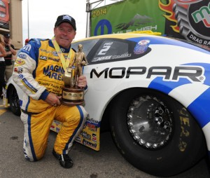 For the 6th time in his career - Allen Johnson collected in Pro Stock at Bandimere Raceway.