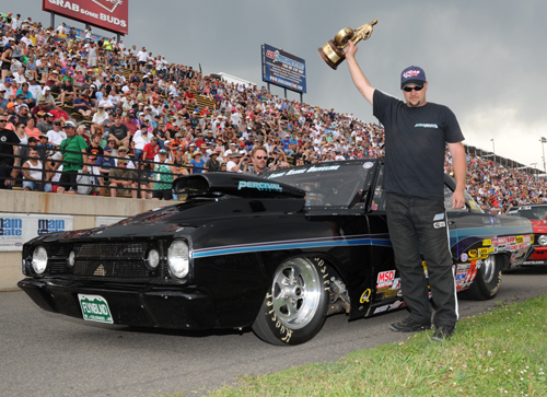 Super Gas winner - Brian Percival