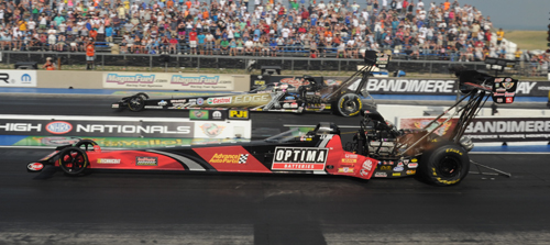 J.R. Todd was impressive while winning in Top Fuel eliminator