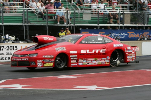 Erica Enders-Stevens increased her overall Pro Stock points lead with her 4th win of the year