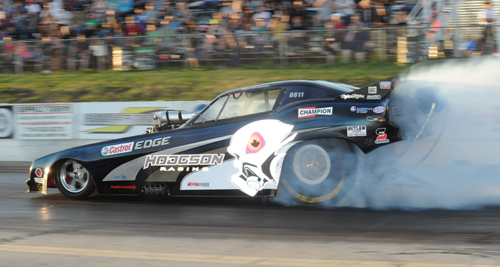 Ryan Hodgson has been earning his stripes the past two seasons driving this 6.9 secs indexed Funny Car.