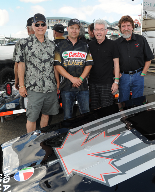 Some big things are to come from the Western Canadian Funny Car consortium of Ron & Ryan Hodgson, Bob Papirnick and Harold Parfett - next season.