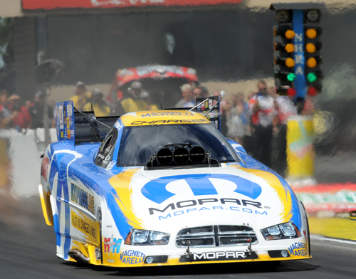 2012 NHRA World Champion Matt Hagan earned his first FC win of the season.