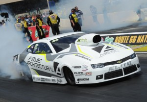 "Australia's Shane Tucker had his best NHRA event so far -- going to the ""final four"" in Pro Stock"