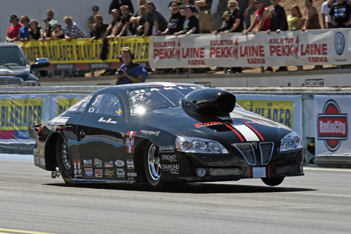 Michael Malmgren scored in Pro Stock