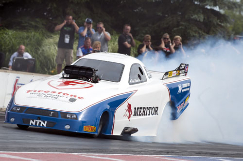Paul Noakes qualified with a decent 5.776 secs but lost out in round #1 to Tony Bartone