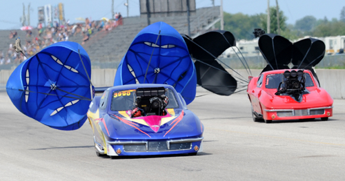 Grand Bend's PMRA event attracted a record 15 entries vying for the 8-car field.