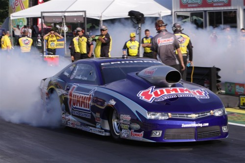 For the 2nd event in a row - Jason Line won in Pro Stock