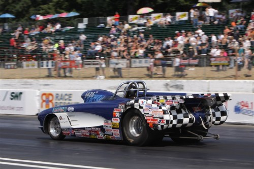 Canada's Mike Shannon won in Super Gas - it was his 2nd career NHRA national event title