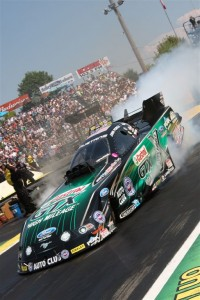 John Force's JFR Team continued to take no prisoners in NHRA Funny Car class racing