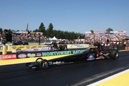 The Lucas Oil TAD final was amazing with XX winning over Chris Demke by a 5.238 to 5.251 secs margin!