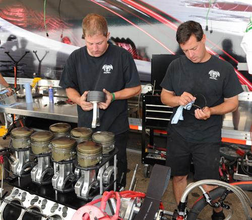 Can-Am racers - Jordon Pawlick & Jason Rupert