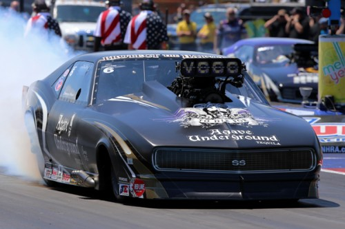 Transplanted Canadian Danny Rowe qualified #1 and set Low ET in Pro Mod.